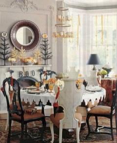 Elegant halloween living room decoration ideas 18