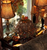 Elegant halloween living room decoration ideas 21