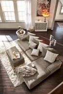 Elegant halloween living room decoration ideas 36