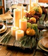Elegant halloween living room decoration ideas 38