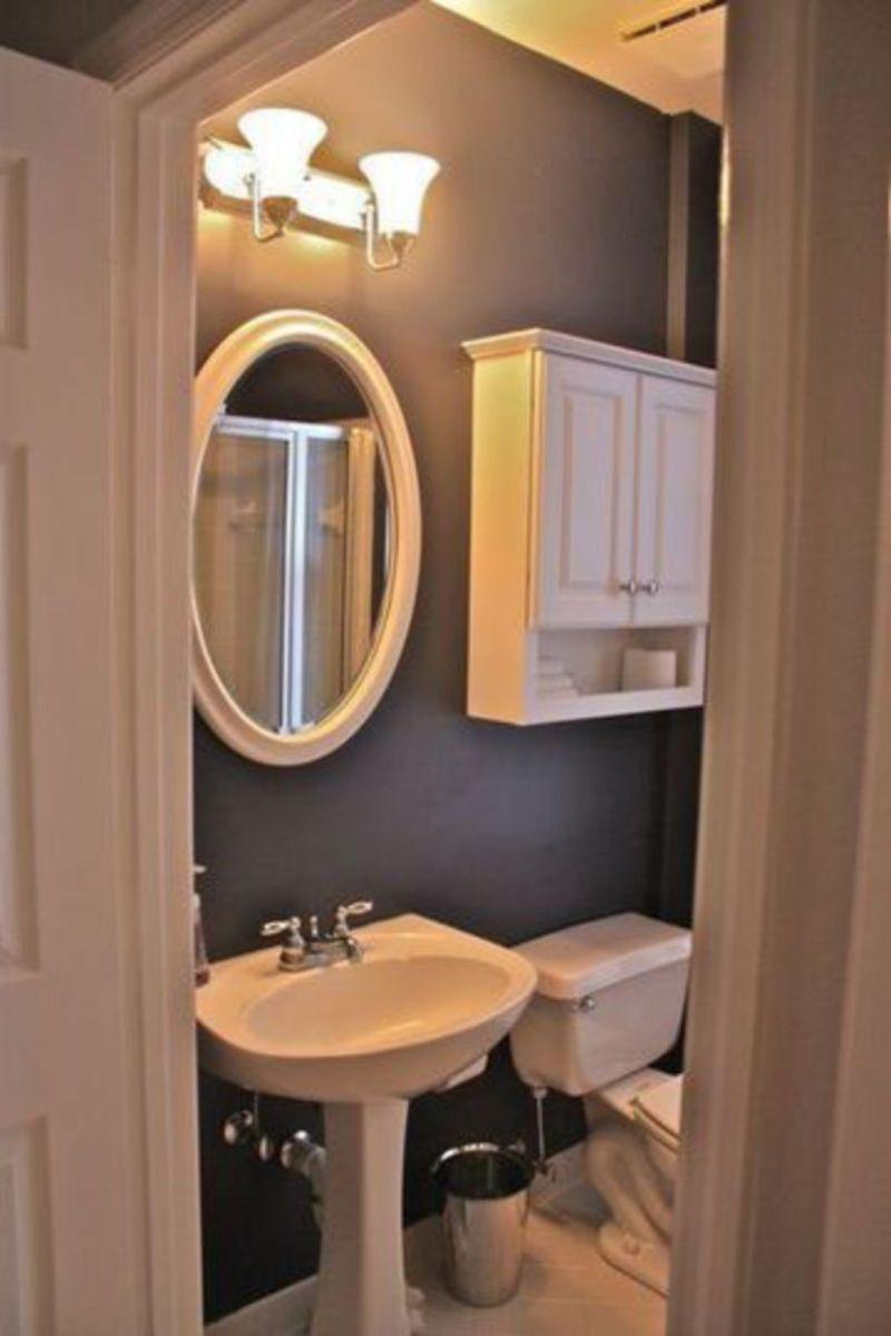 Farmhouse bathroom ideas for small space (24)