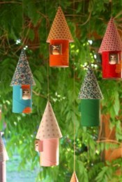 Fun and cute colorful christmas decoration ideas 21