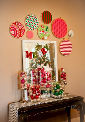 Fun and cute colorful christmas decoration ideas 28