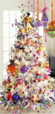 Fun and cute colorful christmas decoration ideas 44