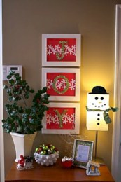 Fun and cute colorful christmas decoration ideas 51