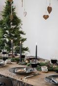 Gorgeous rustic christmas table settings ideas 13 13