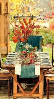 Gorgeous rustic christmas table settings ideas 41 41