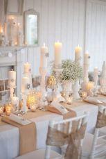 Gorgeous rustic christmas table settings ideas 51 51