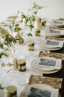 Gorgeous rustic christmas table settings ideas 55 55