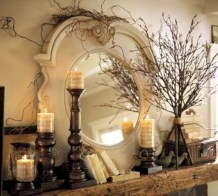 Great halloween mantel decorating ideas 02