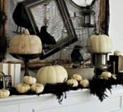 Great halloween mantel decorating ideas 14