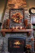 Great halloween mantel decorating ideas 17