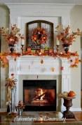 Great halloween mantel decorating ideas 19