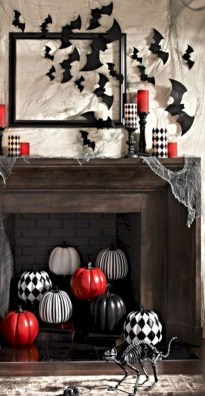 Great halloween mantel decorating ideas 30
