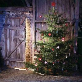 ideas how to make comfortable rustic outdoor christmas dcoration 16