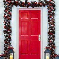 Ideas how to make minimalist christmas décoration 33