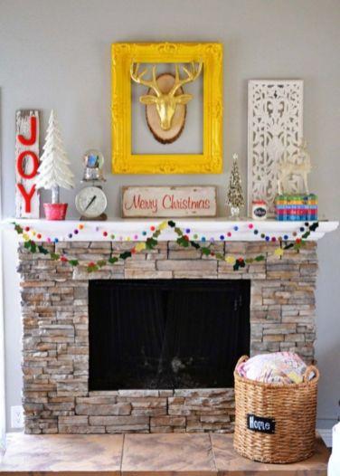 Ideas how to make minimalist christmas décoration 42