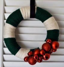 Ideas how to make minimalist christmas décoration 49