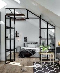 Industrial bedroom designs ideas for small spaces 32