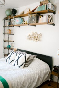 Industrial bedroom designs ideas for small spaces 35