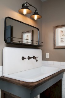 Industrial vintage bathroom ideas (1)