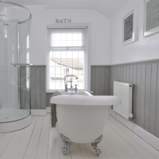 Industrial vintage bathroom ideas (10)