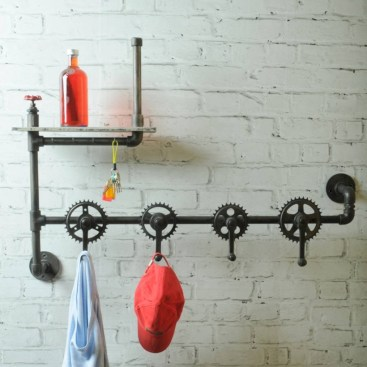 Industrial vintage bathroom ideas (18)