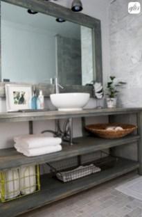Industrial vintage bathroom ideas (23)