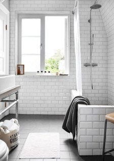 Industrial vintage bathroom ideas (5)