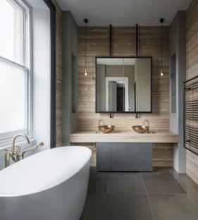 Industrial vintage bathroom ideas (7)