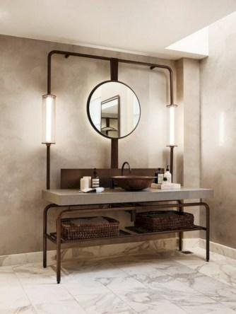 Industrial vintage bathroom ideas (8)