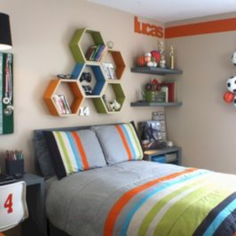 Inspiring bedroom design for boys 06