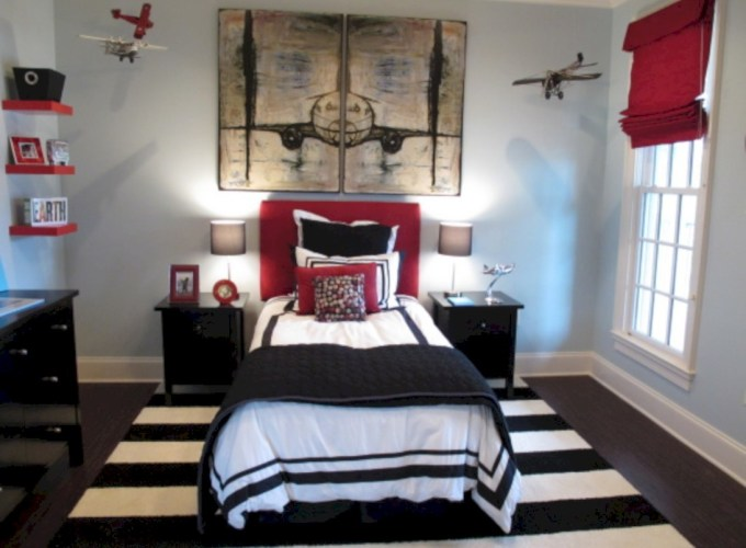 Inspiring bedroom design for boys 56
