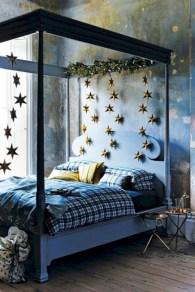 Inspiring christmas bedroom décoration ideas 12
