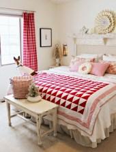 Inspiring christmas bedroom décoration ideas 14