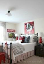 Inspiring christmas bedroom décoration ideas 15