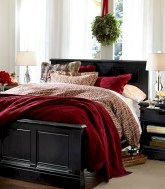 Inspiring christmas bedroom décoration ideas 41