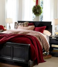 Inspiring christmas bedroom décoration ideas 41