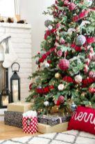 Inspiring christmas decoration ideas using plaid 08