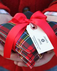 Inspiring christmas decoration ideas using plaid 16