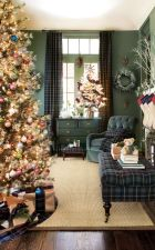 Inspiring christmas decoration ideas using plaid 21