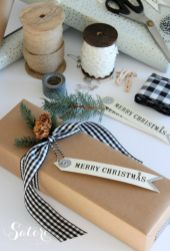 Inspiring christmas decoration ideas using plaid 28