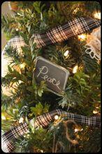 Inspiring christmas decoration ideas using plaid 29