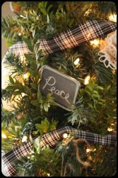 Inspiring christmas decoration ideas using plaid 29