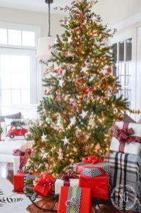 Inspiring christmas decoration ideas using plaid 33