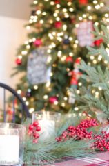 Inspiring christmas decoration ideas using plaid 34