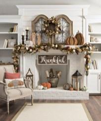 Inspiring halloween fireplace mantel ideas 08