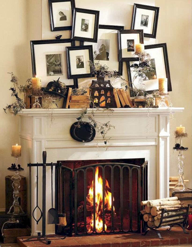 52 inspiring halloween fireplace mantel ideas round decor rh roundecor com