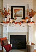 Inspiring halloween fireplace mantel ideas 21