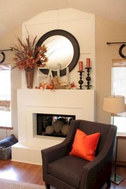 Inspiring halloween fireplace mantel ideas 33